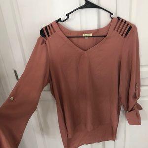 3/4 sleeve dress shirt- never worn